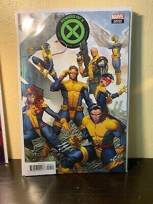 Powers of X #4 (of 9) Molina Connecting Marvel 2019 NM