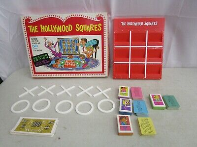 Vintage 1968 Heatter-Quigley *THE HOLLYWOOD SQUARES 2nd Edition* (COMPLETE)