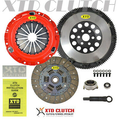XTD STAGE 3 CLUTCH /& 10LBS FLYWHEEL KIT 92-05 CIVIC DEL SOL D15 D16 D17