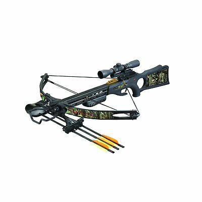 New! SA SPORTS AMBUSH 150-LB COMPOUND CROSSBOW PACKAGE (w/Cocking Device)
