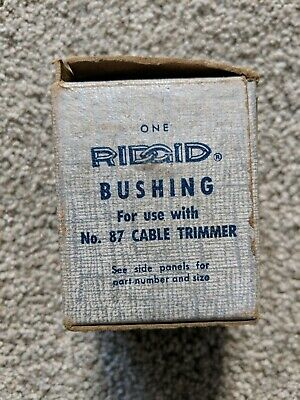 NOS Ridgid E-5805 Bushing for use with # 87 Cable Trimmer