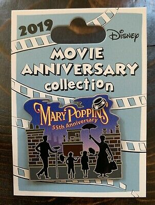 Disney Cast Member 2019 Movie Anniversary Collection Mary Poppins 55th Pin