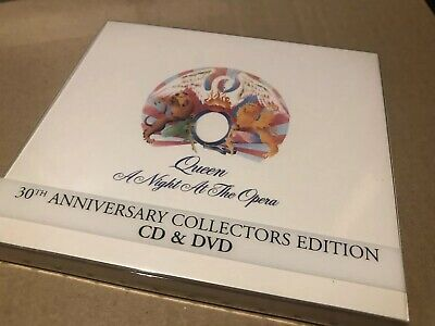 Queen A Night At The Opera 30th Anniversary Cd + Dvd Near Mint limited edition