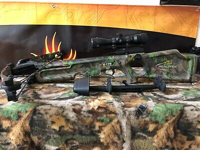 Used! Horton (Team Realtree) HD 175 Crossbow Package! 310 PPS!