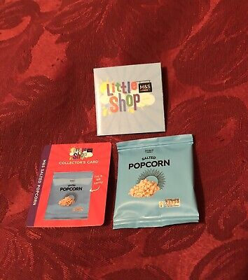 Ms Little Shop collectables, Salted Popcorn NEW