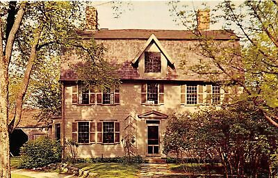 Q24-1441, The Old Manse, Concord, Mass., Postcard.