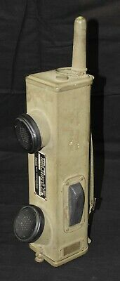 Wwii Us Military Receiver Transmitter Walkie Talkie Radio Bc-611-F Signal Corps
