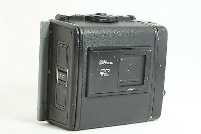 【EXC+3】 ZENZA BRONICA SQ 120 6x6 Roll Film Back Holder for SQ A Ai B from JAPAN