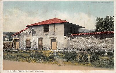 Q24-2361, House Of Four Winds, Monterey, Ca., Postcard.