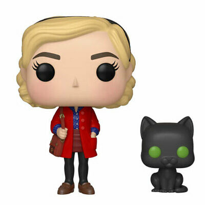 Funko POP! TV - Chilling Adventures of Sabrina Vinyl Figure - SABRINA with Salem