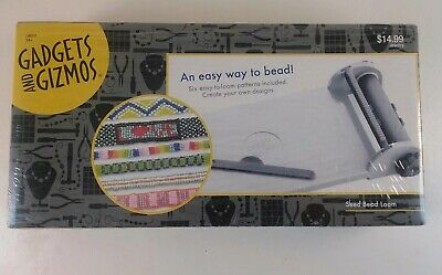 Gadgets and Gizmos Seed Bead Loom New