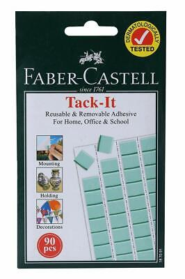 Faber-Castell Tack-It - 90 pieces (Light Green) MXC