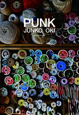 JAPAN NEW PUNK Embroidery artists Junko Oki Works Art Photo Book