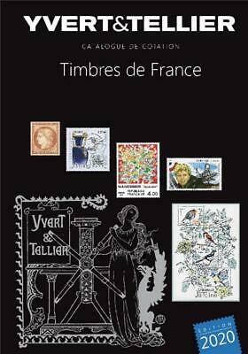Catalogue Yvert et Tellier Tome 1 France 2020 + cadeau