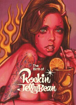 JAPAN NEW The Birth of Rockin'Jelly Bean / Graphic Design illustration Art Book