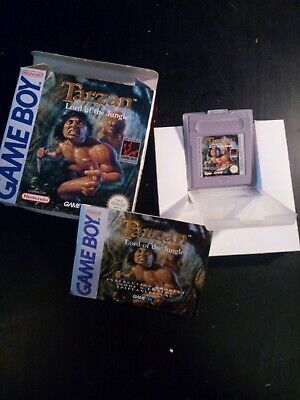 Tarzan Lord Of The Jungle Complet Boîte Notice Gameboy Pal Français Fah Cib Ovp