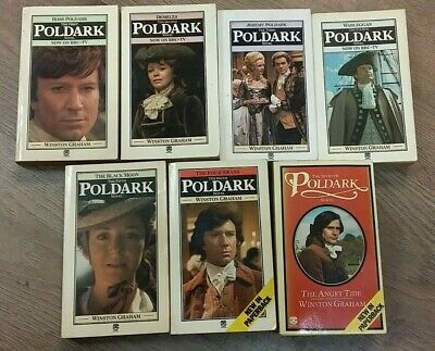1 - 7 ENTHRALLING POLDARK BOOKS by WINSTON GRAHAM ** £3.25 UK POST ** PAPERBACK