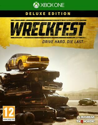 Wreckfest - Deluxe Edition (Xbox One) NEW AND SEALED - IN STOCK - QUICK DISPATCH