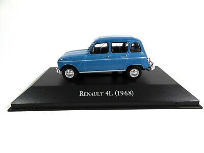 Renault 4L (1968) - 1/43 Voiture Miniature SALVAT Diecast Model Car AR16