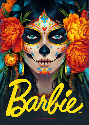 Dia De Los Muertos Barbie Day Of The Dead Doll In Stock Now Only 2 Left