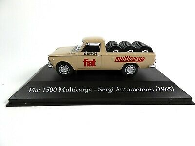 Fiat 1500 Multicarga 1965 - 1/43 Voiture Miniature SALVAT Diecast Model Car SA23