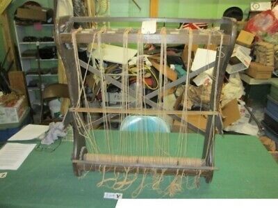 Antique Weaving Sewing Blanket Loom Circa 1880'S