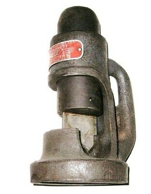 Vintage Morse-Starrett MO-ST Model # 1 Hammer Strike Cable Cutter A1 Made in USA