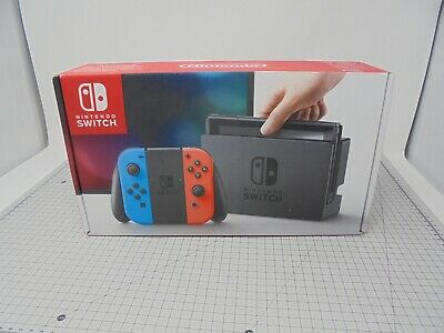 EMPTY BOX Only - Nintendo Switch - Red/Blue - NSRB33