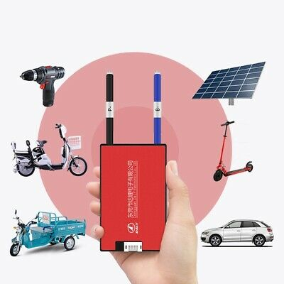 Waterproof BMS 4S 12V 20A/30A/40A/60A LiFePO4 Battery Charger Proection Balanced