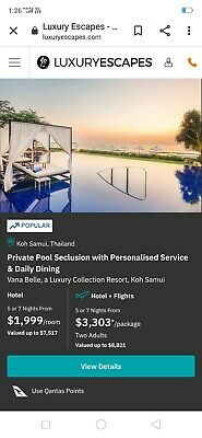 Luxury Escapes Holiday Accommodation Price Lowered By $1000 Worth $3499