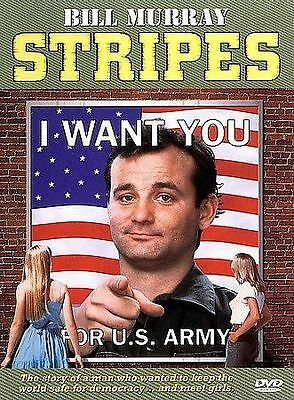 Stripes (DVD, 1998, Closed Caption) Bill Murray WORLD SHIP AVAIL