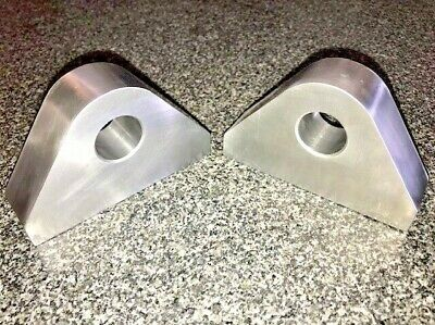 """use with 3//4/"""" bow shackles Pair of Premium CRS Weld on Recovery Shackle Mounts"""