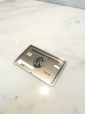 American Express Metal Credit Card AMEX Platinum Business Card Pre-Owned