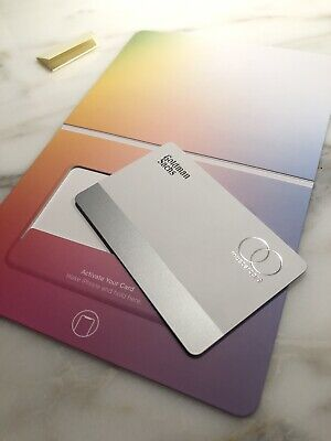 APPLE CREDIT CARD Metal -Titanium BRAND NEW - An iPhone Collectors Item IN HAND!