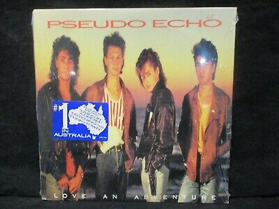 SEALED  Pseudo Echo 'Love An Adventure' LP HYPE STICKER