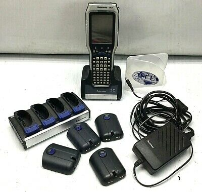 Intermec Ck31 Ac1 Ad1 Hck30-Li Scanner W/ Charging Dock 4X Battery Power Adapter