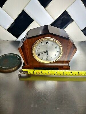 Rare Vintage Art Deco Smith Lever 8 Day Clock  Made In England