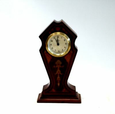 Vintage KAISER Wooden Patterned Mantel / Carriage Clock UNBOXED - B11