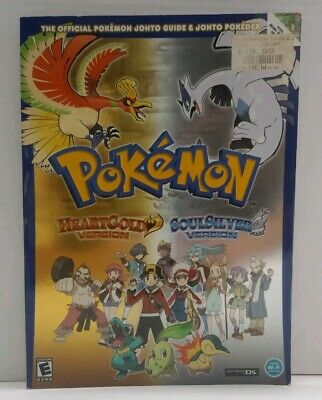 Pokemon HeartGold and SoulSilver Version Official Johto Guide and Pokedex