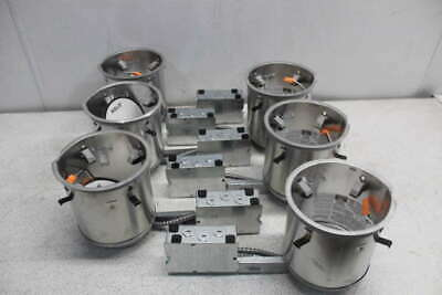 Lot of 6 Cooper Lighting Halo 6inch LED Recessed Ligthing Housing H750RICAT