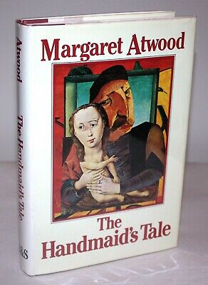 HANDMAID'S TALE *SIGNED* Margaret Atwood The True 1st/1st Edition w event ticket