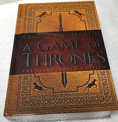 A Song of Ice and Fire: A Game of Thrones ILLUSTRATED George R. R. Martin NEW