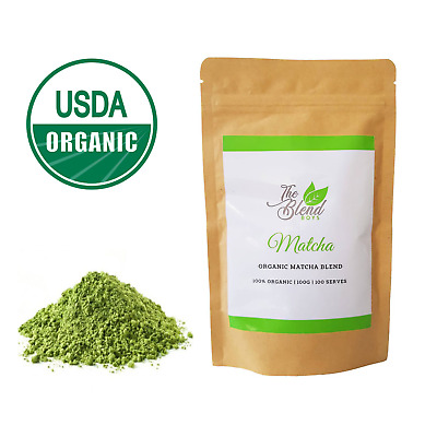 Organic Premium Matcha Green Tea Powder 100g  | Sugar Free | Vegan