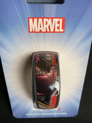 Disney Marvel Iron Man Magicband 2 Magic Band Parks Avengers Endgame