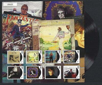 Great Britain 2019 Elton John Collection Fan Sheet No.9633 Unmounted Mint