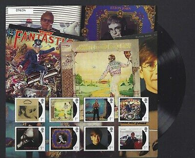 Great Britain 2019 Elton John Collection Fan Sheet No.9634 Unmounted Mint