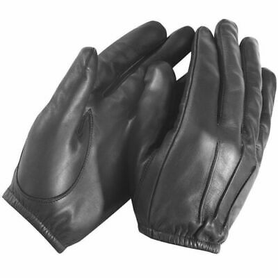 Leather gloves made with kevlar  Police Anti Slash Fire Resistant Leather Gloves