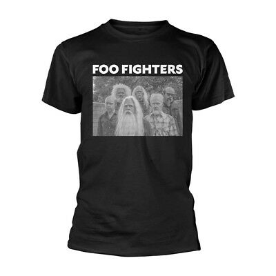 Foo Fighters Old Band Mens Black Size Large T Shirt New