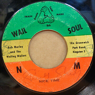 "Bob Marley & The Wailing Wailers Nice Time / Hypocrites Jamaican W&Soul 7"" Clip"