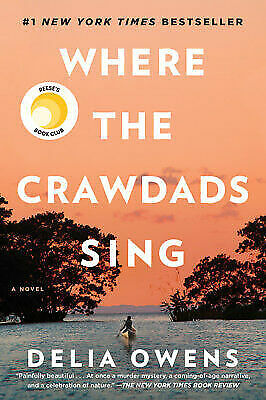 Where The Crawdads Sing by Delia Owens EUC Hardcover